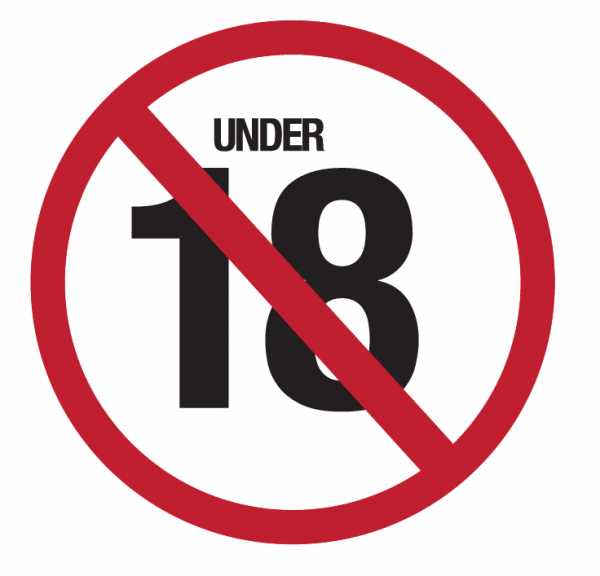 No Gambling under 18